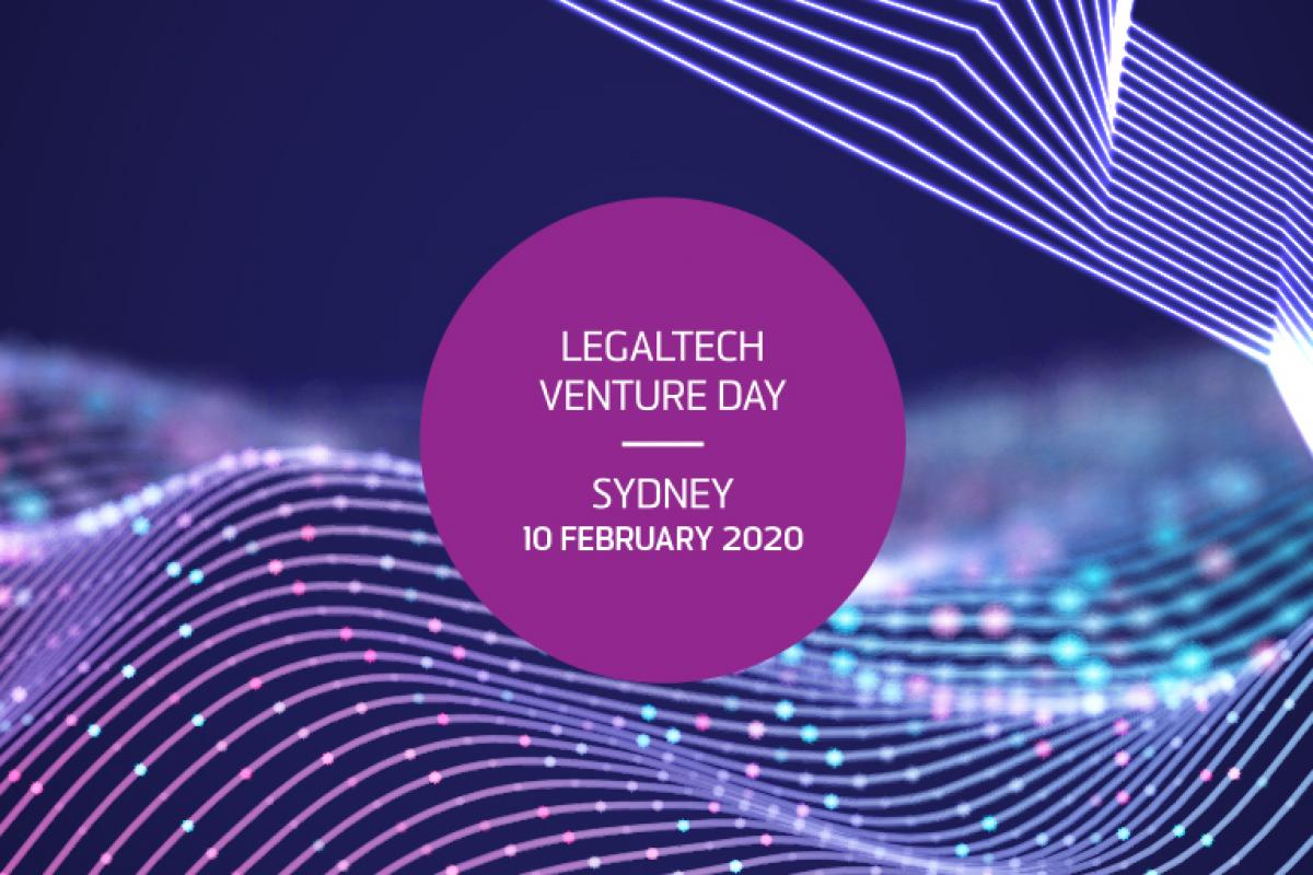 Legal Tech Venture day logo